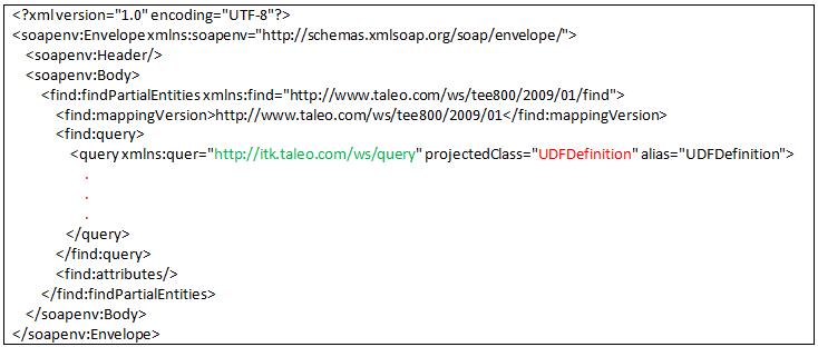 Taleo Enterprise Edition: How to explore Custom UDF Definitions via